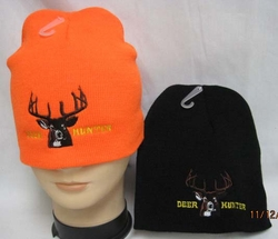 Wholesale Mens Hats and Caps - WIN902A Deer Hunter Beanie