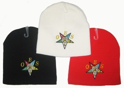 Wholesale Bulk Mens Hats and Caps Suppliers Printed - WIN964 Eastern Star Beanie