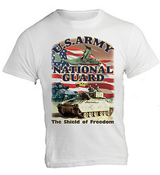 Wholesale Products for Resale Online - Men's Military Shirts Clothing - Army National Guard T-Shirts - MSC Distributors