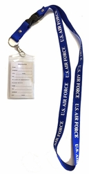 Military Wholesale Bulk Suppliers USA - LAN Air Force. Military Lanyard