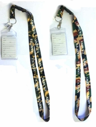 Military Wholesale Bulk Suppliers USA - LAN Army Camo. Military Lanyard