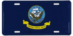 Military Wholesale Bulk Suppliers USA - LP139. Military Metal License Plate