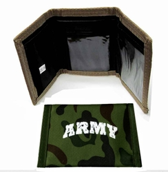 Military Wholesale Bulk Suppliers USA - WLT3 Army. Wallet - Army