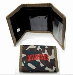 Military Wholesale Bulk Suppliers USA - WLT3 Marines. Wallet - Marines
