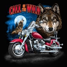 Wholesale Funny Biker Wolf Products T Shirts Hats for Resale Online - 22123n