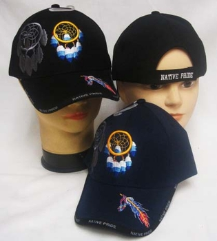 Wholesale Bulk Mens Hats and Caps Bulk Suppliers Wholesale Patriotic - CAP641 Native Pride Dreamcatcher Cap