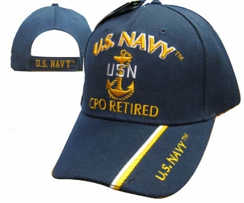 Custom Personalized Gifts, Navy CPO Retired Cap