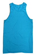 Men's Women's Adult Colortone Unisex Tie Dye Tank Top - Neon Blue - MSC Distributors