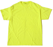Wholesale Neon Color T-Shirt, Colorful T-Shirts Retailer, Wholesale Tee Shirt Company - NEON YELLOW