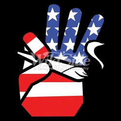 T-Shirts, Tees, Hats, Patriotic, American Flag, Cheap, Online, Wholesale - p-42976-hand-usa-flag-holding-joint