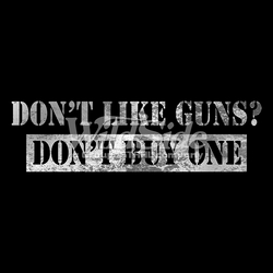 Gun Slogan T-Shirts, Tees, Hats, Patriotic, American Flag, Cheap, Online, Wholesale - p-60927-16305-dont-guns-dont-buy-one