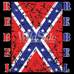 T-Shirts, Tees, Hats, Patriotic, American Flag, Cheap, Online, Wholesale -p-74396-17752-12x13-rebel-confederate-flag