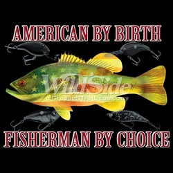 T-Shirts, Tees, Hats, Patriotic, American Flag, Cheap, Online, Wholesale - p-76984-17741-12x9-american-birth-fisherman-choice