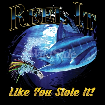 Wholesale Fishing T Shirts - Real it like you Stole it T Shirts Designs, Bulk, Supplier - MSC Distributors