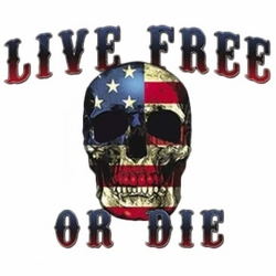 Wholesale Patriotic Skull Clothing Apparel T Shirts Bulk - MSC Distributors
