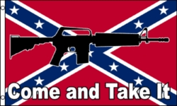 Flag Rebel Wholesale - HS219. Confederate Flag-Come and Take It