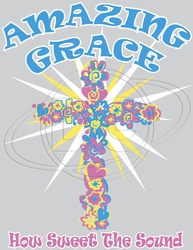 Wholesale Fashion Products Resale Online - Amazing Grace Christian T-Shirt Supplier, Wholesale Supplier of Funny T-Shirts in Bulk - C-508