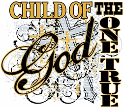 Christian Child of God T-Shirt Supplier, Wholesale Supplier of Funny T-Shirts in Bulk - C-512