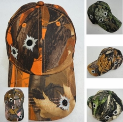 Realtree Hardwoods HD� Camo - Wholesale Bulk Supplier - HT77. Camo Hardwood Hat with Bullet Holes