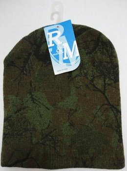 Realtree Hardwoods HD® Camo - Wholesale Bulk Supplier - WN673. Knitted Beanie [Hardwoods Camo]