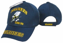 Cheap Wholesale Military Apparel Suppliers - Seabees Can Do Cap
