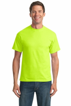 Wholesale Clothing Apparel - Safety Green T-Shirts Suppliers Short Sleeve Women's Men's Online - Port Company PC55