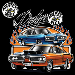 Wholesale T-Shirts, Bulk T-Shirts, Classic Car, Licensed Online at Cheap Price - MSC Distributors - 21143HD1-1