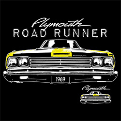 Plymouth Road Runner T-Shirts - Wholesale Distributors