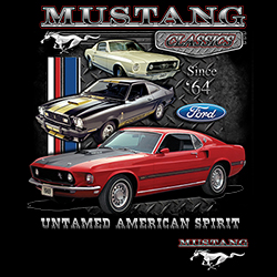 Wholesale Products - Men's Women's Adult Ford Mustang T-Shirts - MSC Distributors