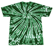 Wholesale, Tie Dyes Clothing, Women's Men's Tie Dyes Apparel - MSC Distributors - TWIST DARK GREEN