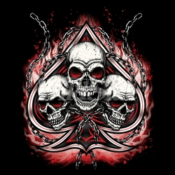 Wholesale Skulls, Bulk T Shirts, Wholesale T Shirts, Suppliers, Apparel - 18546