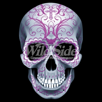 Wholesale Skull T Shirts, Cheap Online Sale At Wholesale Prices - Candy Skull-All Pink a9542f