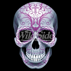 Skull T Shirts, Cheap Online Sale At Wholesale Prices - Candy Skull-All Pink a9542f