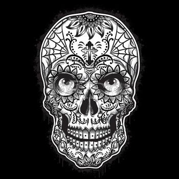 Skulls, Bulk T Shirts, Wholesale T Shirts, Suppliers, Apparel - p-80538-10x14-sugar-skull-eyes