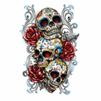 Skulls, Bulk T Shirts, Wholesale T Shirts, Suppliers, Apparel - Sugar Skull  Roses Lined Up a10193e