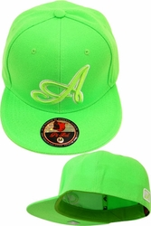 Wholesale Suppliers Wholesalers, Products - Snapback Hats & Hats | Wholesale Caps & Hats - F2-276 Neon Green Tone
