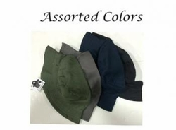 Wholesale Convenience Store Supplies - SOLID BUCKET HAT
