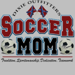 Sports Outdoors Soccer Mom Dixie T Shirts Suppliers USA Wholesale Gildan - MSC Distriburors - 5472L