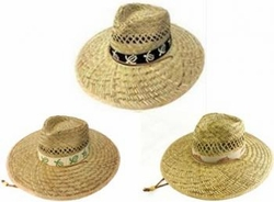 Wholesale Convenience Store Supplies - STRAW GOLF HAT BAND-ASST