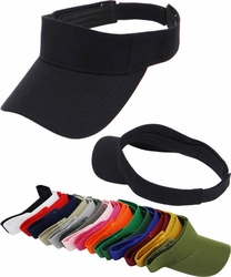 Wholesale Suppliers Wholesalers, Products - Sun Visor Hats - Wholesale Hats SV-001 Sun Visor