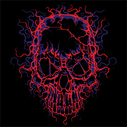 Skull Gothic Cheap Bulk Wholesale Clothing - Skull T-Shirts in Bulk, Wholesale Clothing and Apparel - MSC Distributors