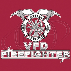 Wholesale Products - Volunteer Firefighter T-Shirt Supplier, Wholesale Supplier of Funny T-Shirts in Bulk - N-501