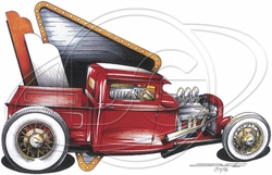 Wholesale Products - Hot Rod Car T-Shirt Supplier, Wholesale Supplier of Funny T-Shirts in Bulk - POS-478