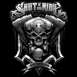 Men's Women's Adult Biker T Shirts - Wholesale Motorcycle T Shirts For Sale Outlaw - MSC Distributors