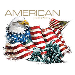 T Shirts, Military, Patriotic, Men's, Wholesale - 21836HL2-1