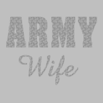Wholesale Clothing - Custom Personalized Bulk Wholesale Shirts - Army Wife - 7268
