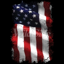 Flag T Shirts Wholesale Bulk Supplier - American Flag T-Shirts, Tees, Hats, Patriotic, American Flag, Cheap, Online, Wholesale - 18748