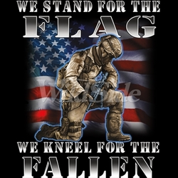 We stand for the flag Kneel for the fallen t shirts Wholesale - 19702