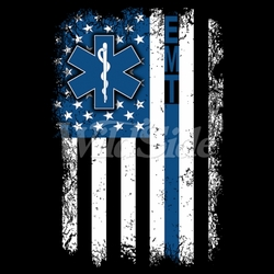 Fashion Patriotic Clothing For Men, Wholesale Bulk Supplier - EMT Blue Line T-Shirts, Tees, Hats, Patriotic, American Flag, Cheap, Online, Wholesale - 19705