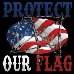 Protect our Flag T-Shirts, Tees, Hats, Patriotic, American Flag, Cheap, Online, Wholesale - 19771